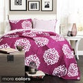 Lush Decor Sophie 3-piece Quilt Set