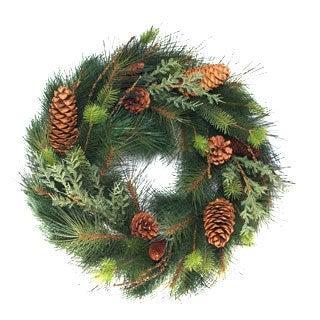 Pine Fir and Juniper Wreath