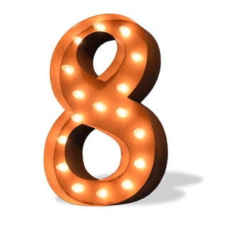 Numeral Eight Iconic Marquee Sign