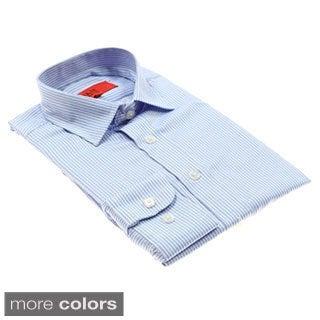 Elie Balleh Men's Vertical-striped Button-down Shirt