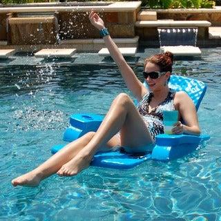TRC Recreation Bahama Blue Baja Folding Chair