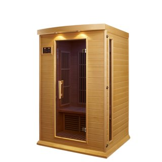 person Carbon Wood Infrared Sauna Today: $1,579.99 $1,629.99 Save: 3 ...