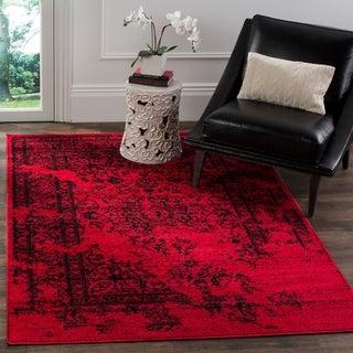 Safavieh Adirondack Red/ Black Rug (4' x 6')