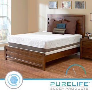Purelife Apex PureGel Plus 12-inch California King-size Gel Memory Foam Mattress