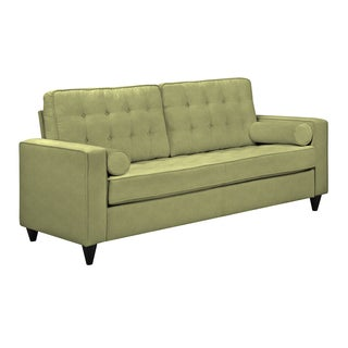 angelo:HOME Sterling Celery Green Linen Sofa