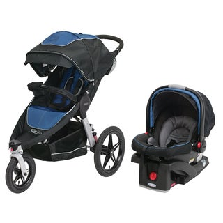 Graco Relay Performance Jogger Travel System in Jaguar