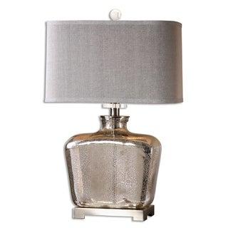 Molinara 1-light Speckled Mercury Glass Table Lamp
