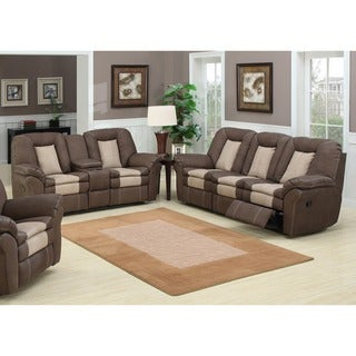 Carson 2-piece Leather Reclining Set