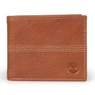 Timberland Men's Genuine Leather Bifold Banker Wallet