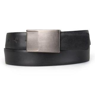 Calvin Klein Men's Genuine Leather Sliding Buckle Belt