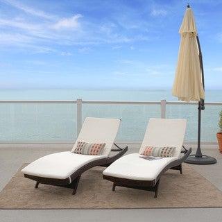Christopher Knight Home Sunbrella Lounge Cushion (Set of 2)