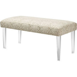 Addison Upholstered Grey Bench