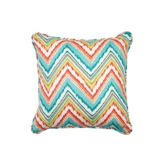 Chevron Capri Decorative Pillow