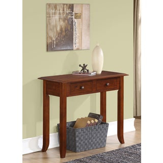 Collins Medium Mahogany Brown Console Table