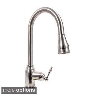 Dyconn Faucet Dual Spray Pull Down Kitchen Faucet
