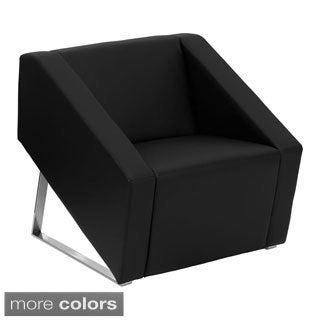 Offex Hercules Smart Leather Reception Chair