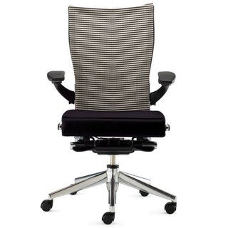 Haworth X99 Mesh Task Chair (Black Seat Storm Fabric Back, 3D Arms)