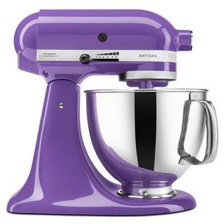 KitchenAid KSM150PSGP Grape 5-quart Artisan Tilt-head Stand Mixer