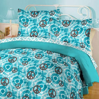 Tye Dye Peace 8-piece Comforter Set
