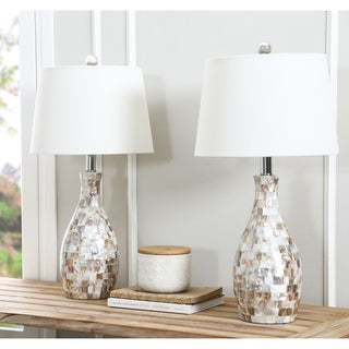 ABBYSON LIVING Mother of Pearl Table Lamp (Set of 2)