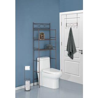 Three Piece Diamond Design Combo Bathroom Storage Kit