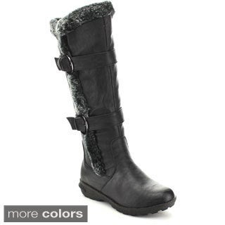 Forever Women's 'Aura-43' Cold Weather Knee-high Boots