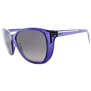 Fendi Womens FS 5219 513 Purple Cat Eye Sunglasses