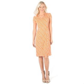 DownEast Basics Women's Architectural Shape Dress
