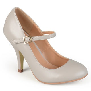 Journee Collection Women's 'Sammy' Matte Finish Mary Jane Pumps