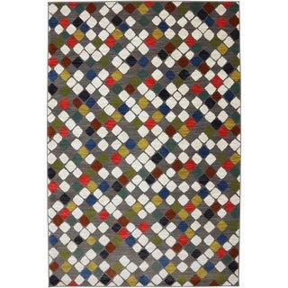 Karastan Panache Sambre Bungee Cord Nylon Rug (8' x 10')