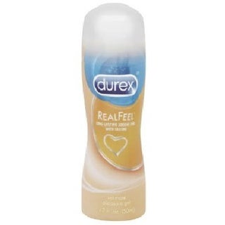 Durex 1.7-ounce Real Feel Intimate Pleasure Gel and Personal Lubricant
