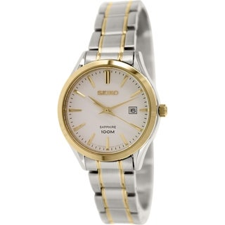 Seiko Women's SXDG20 Stainless Steel Quartz Watch