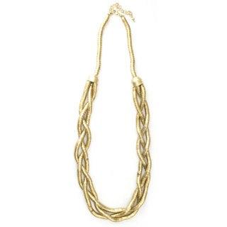 Nefertiti Goldtone Rope Necklace (India)