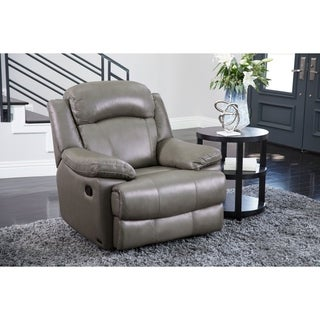 ABBYSON LIVING Clarence Top Grain Leather Recliner