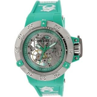 Invicta Women's Subaqua 16782 Green Silicone Automatic Watch