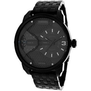 Diesel Men's DZ7316 Mini Daddy Round Black Bracelet Watch