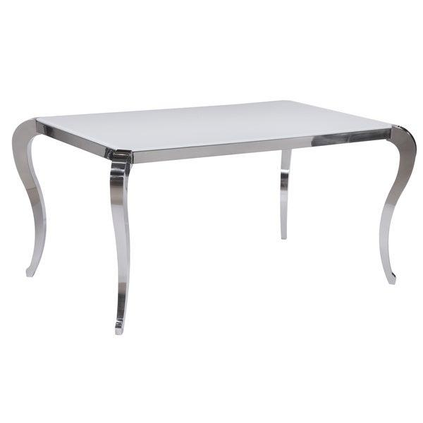 Somette Tabitha Super White Starphire Glass Dining Table  : Tabitha Super White Starphire Glass Dining Table dd658274 d27f 4b54 826d b0af4b049bf4600 from www.overstock.com size 600 x 600 jpeg 22kB