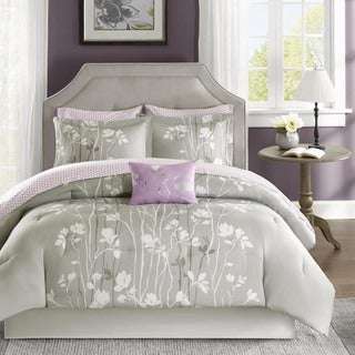 Madison Park Essentials Fulton 9-Piece Bed and Sheet Set