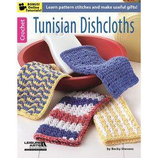 Leisure Arts-Tunisian Dishcloths