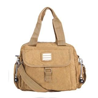Suvelle Crinkled Nylon Water-resistant Go-Go Bag