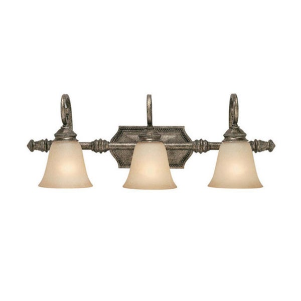 Vanity Lights Stone : Capital Lighting Barclay Collection 3-light Creek Stone Bath/ Vanity Light - Overstock Shopping ...