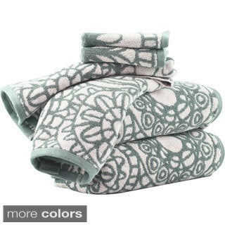 Sanctuary by Vivendi Home 6-piece Floral Towel Set