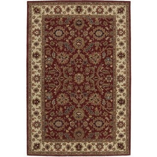 Hand-knotted Nourison India House Brick Rug (3'6 x 5'6)