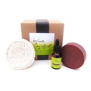 Karess Krafters Handmade Natural Facial Care Gift Set