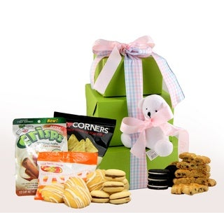 It's a Girl! Gluten Free Gift Tower, Large, 2 pounds