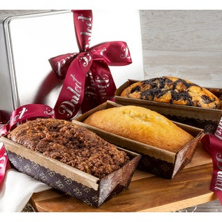 Dulcet Gourmet Assorted Loaf Cakes in Gift Tin