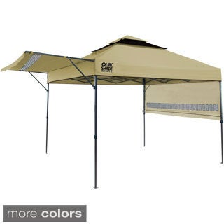 Quik Shade Summit X Instant Canopy with Adjustable Dual Half Awnings