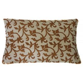 Jiti Asis Gold Long Linen Accent Pillow