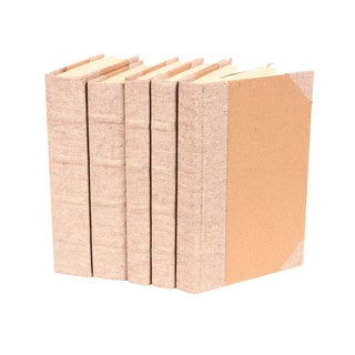 Bespoke Herringbone Decorative Books (Set of 5)