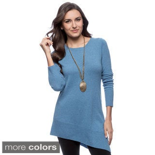 Ply Cashmere Women's Boat-neck Cashmere Sweater